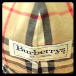 Burberry Hat with label